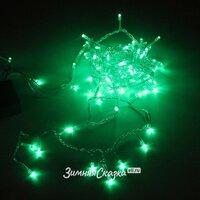 Snowhouse Светодиодная гирлянда для дома 100 зеленых LED ламп 5 м, зеленый ПВХ ILD100C-GG
