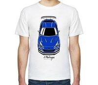 Мужская футболка Все Футболки Субару - Subaru BRZ мужская футболка с коротким рукавом белая