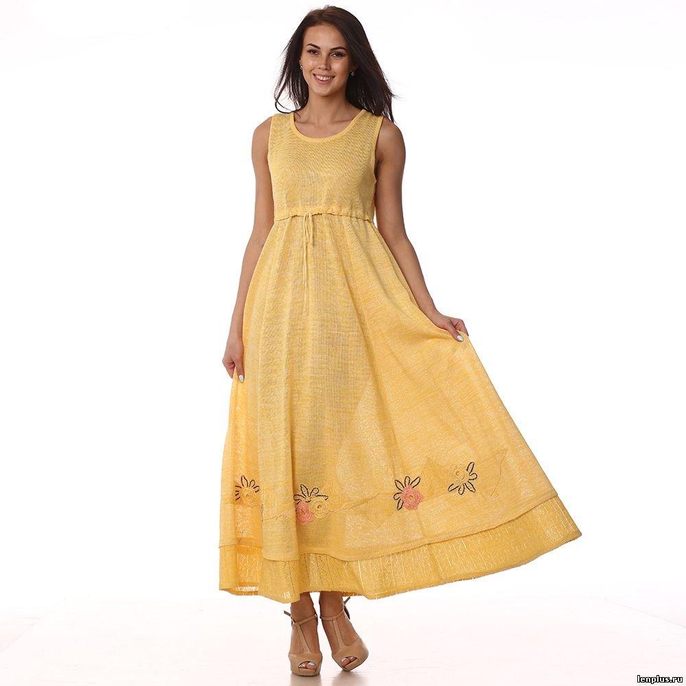 Сшить платье и сарафан из льна 907