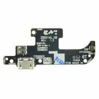Шлейф для ASUS ZenFone Live ZB501KL плата на системный разъем/микрофон