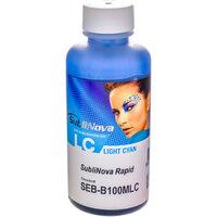 Сублимационные чернила без запаха, InkTec Sublinova Rapid (SEB-B100MLC) 100 мл, светло-голубые