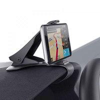 Универсальный автомобильный держатель для телефона на торпеду (Черный)