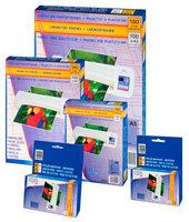 Пленка для ламинирования пакетная ProfiOffice, 54 х 86 мм, 80 мкм, глянцевая, 100 шт. (profioffice_19033)