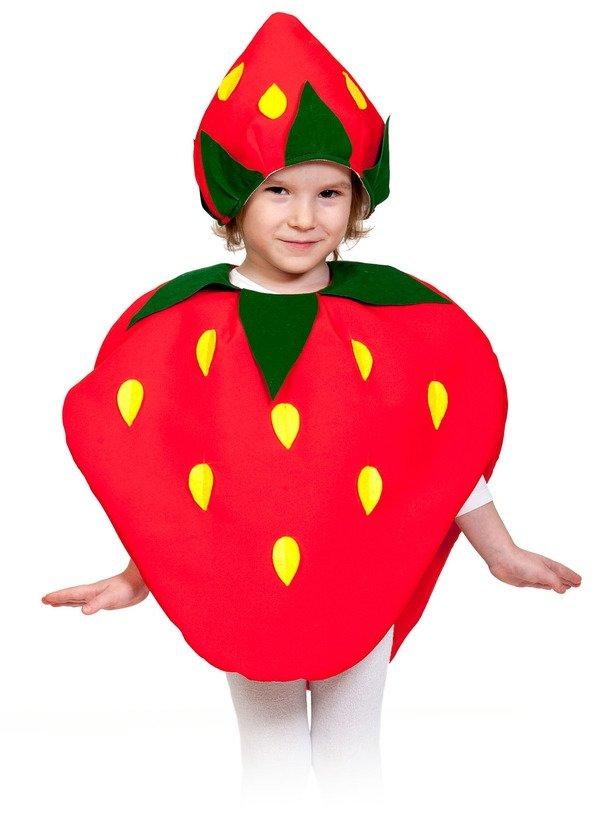Костюмы фруктов, овощей, грибочек и ягодок
