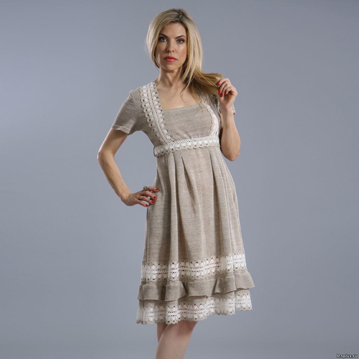 Сшить платье и сарафан из льна 109