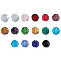 Бусины стеклянные Zlatka на нити, цвет: черный, 4x3 мм, арт. GBT-01