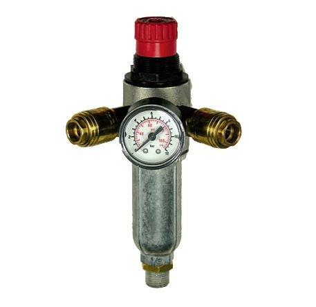 Регулятор давления воздуха для компрессора с манометром своими руками 72