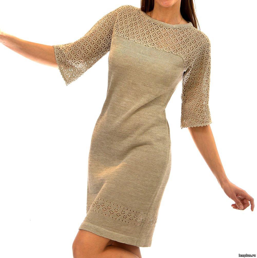 Вязание для женщин платье 89