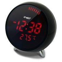 СК 1010-Ч-К Спектр сетевые электронные часы-будильник