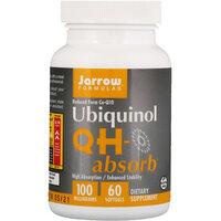Убихинол QH-Absorb, 100 мг, 60 капсул