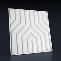 Декоративная панель для стен, Гипсовая 3д панель «Технология»
