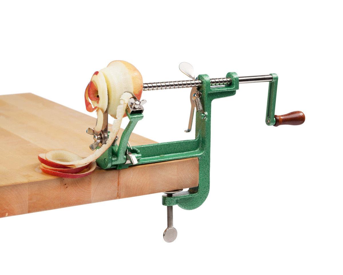 Приспособление для резки яблок на сушку своими руками 98