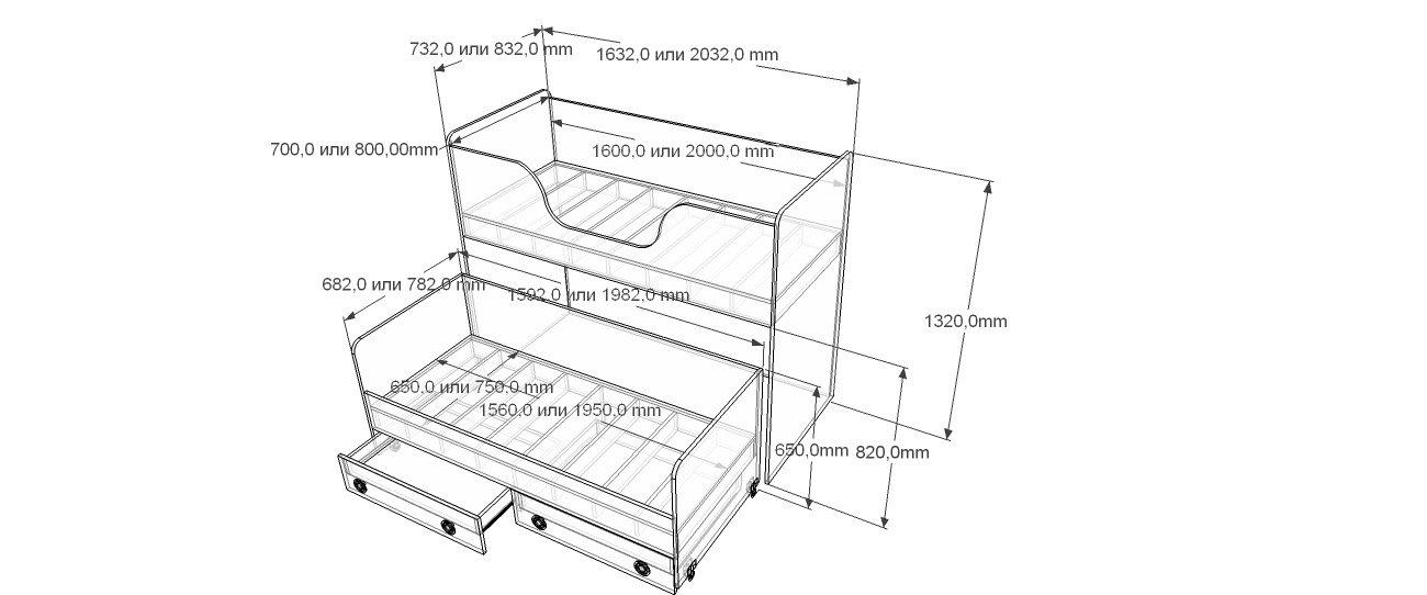 Кровать выдвижная своими руками чертежи и схемы 50