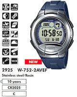 Ремешок для часов Casio W-752 / W-753 / W-755 синий (10179407)