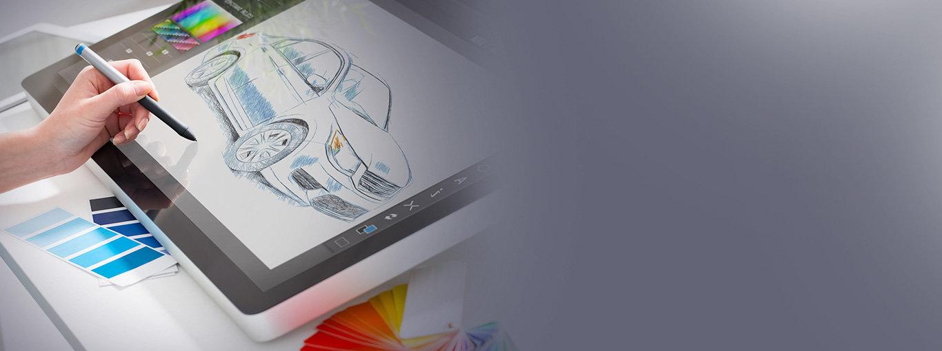 Графический дизайн компьютерного