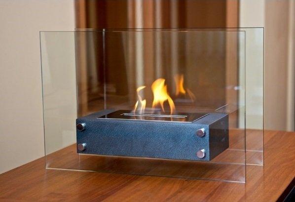 Как сделать стекло камина