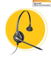 Plantronics SupraPlus NC USB (PL-HW251N-USB), телефонная гарнитура, USB, (Plantronics), оптимизирована для Microsoft Office Communicator (Plantronics)