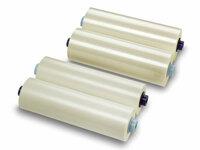 Рулонная пленка для ламинирования, Глянцевая, 32 мкм, 350 мм, 200 м, 1 (25 мм)
