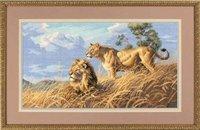Набор для вышивания Dimensions 3866-DMS Африканские львы