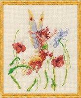 Fee aux Coquelicots (Фея макового поля) Набор для вышивки крестом Nimue 33-R003K