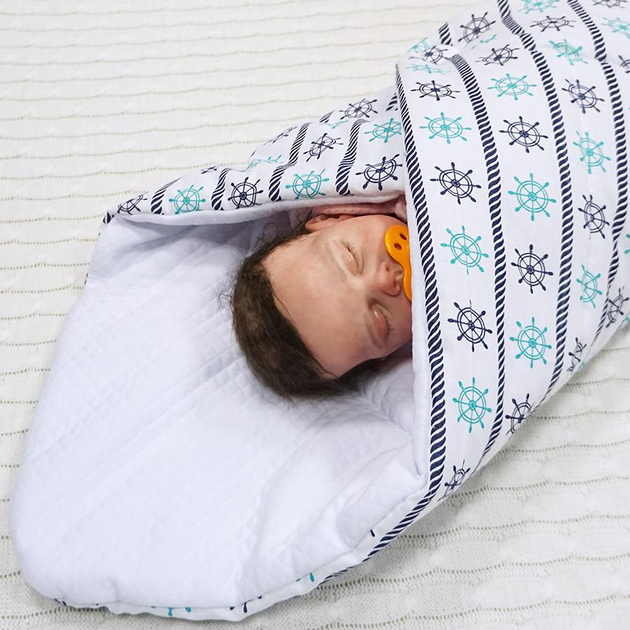 Одеяло новорожденной своими руками 662