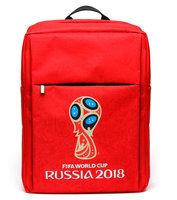 Рюкзак для ноутбука FIFA 2018, 15.6, красный