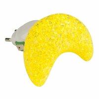 Настенный светодиодный светильник (10331) Uniel DTL-309-Месяц/Yellow/1LED/0,1W