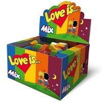 Жвачка Love is - микс (блок 100 шт)