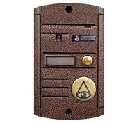 Вызывная панель видеодомофона Activision AVP-451(PAL) TM (медь)