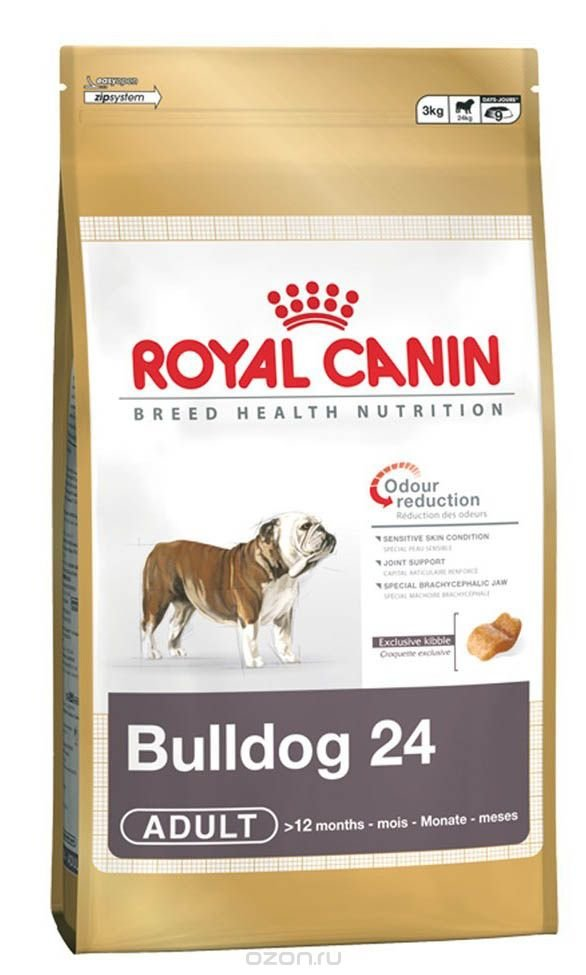 Корм royal canin french bulldog adult 26