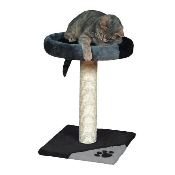 Лежанка с когтеточкой для кошки своими руками
