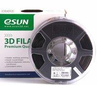 ESUN PLA+ пластик ESUN, 1.75 мм, черный, 1 кг