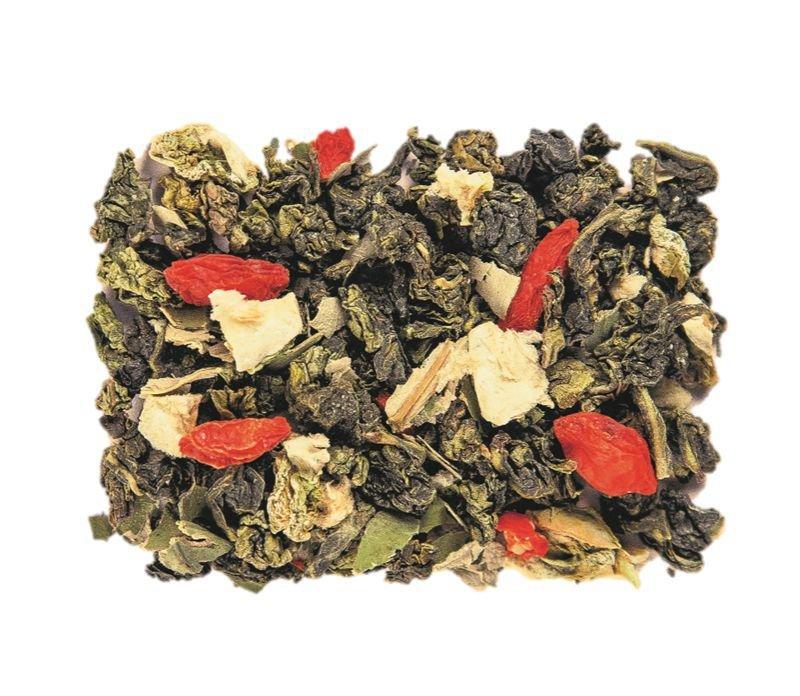 Зеленый чай молочный улун для похудения