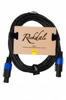 ROCKDALE SC001 Спикерный кабель с разъёмами типа Speakon для низковольтных соединений, OFC, 2x1.5mm2, длина 6,5 м
