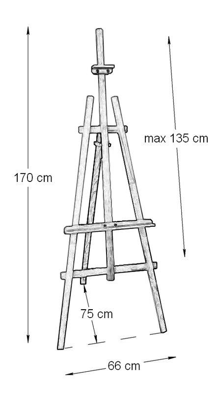 Конструкция мольбертов своими руками 33