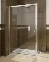 Душевой уголок Radaway Premium Plus DWJ+S 100 прозрачное стекло