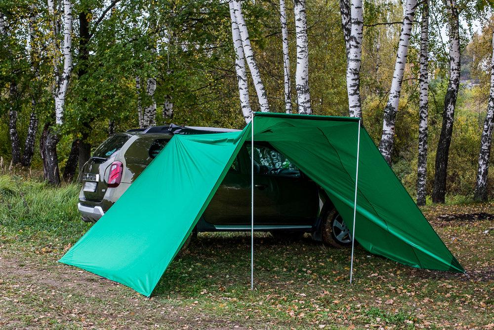 Палатки тенты своими руками 82