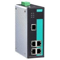 MOXA EDS-305 Промышленный 5-портовый неуправляемый коммутатор 10/100 BaseT Ethernet