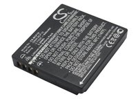 Аккумулятор CameronSino для Panasonic CGA-S/106C, DMW-BCF10E 940mah