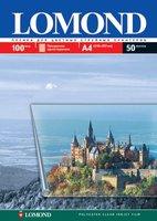 Пленка Lomond 0708411 PET Ink Jet Film – прозрачная, А4, 100 мкм, 10 листов, для струйной цветной печати.
