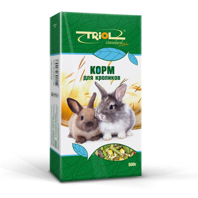 Корм для беременных кроликов 72