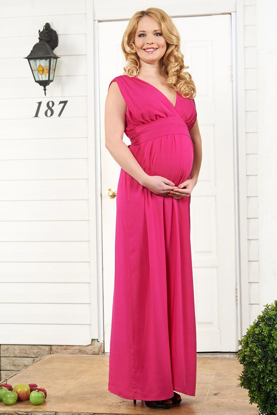 Платье для беременных красивые фото 37