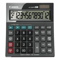 Калькулятор настольный Canon AS-220RTS 12-разрядный черный