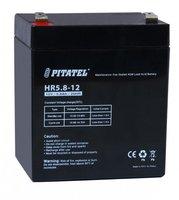 Аккумулятор для источника бесперебойного питания Pitatel HR5.8-12, 12 В, 5.8 Ач