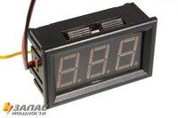 YB27 Цифровой вольтметер (0-300В) 0,56 синий; отдельное питание