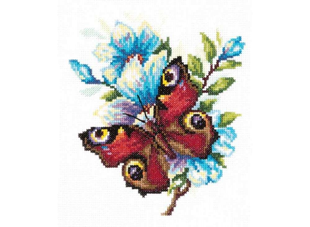 Схема вышивки махаон чудесная игла 39