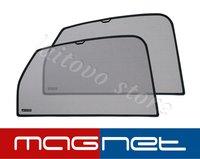 Laitovo Бескрепежные автомобильные шторки Chiko Magnet задние на Subaru Trezia Минивэн 5D (2010 - 2014) i-L NCP/NSP