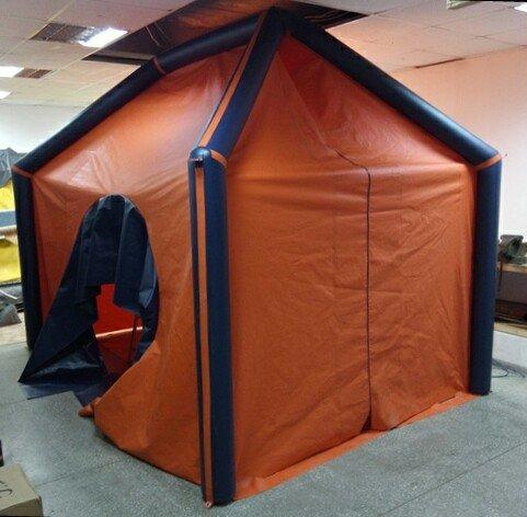 Палатка туристическая из пвх труб