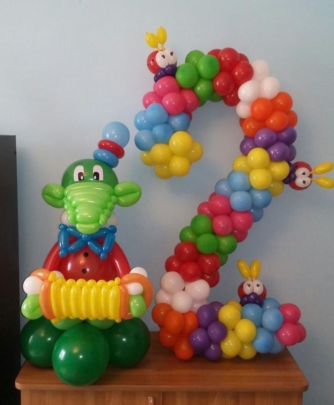 Поделки для мальчика из шаров 90