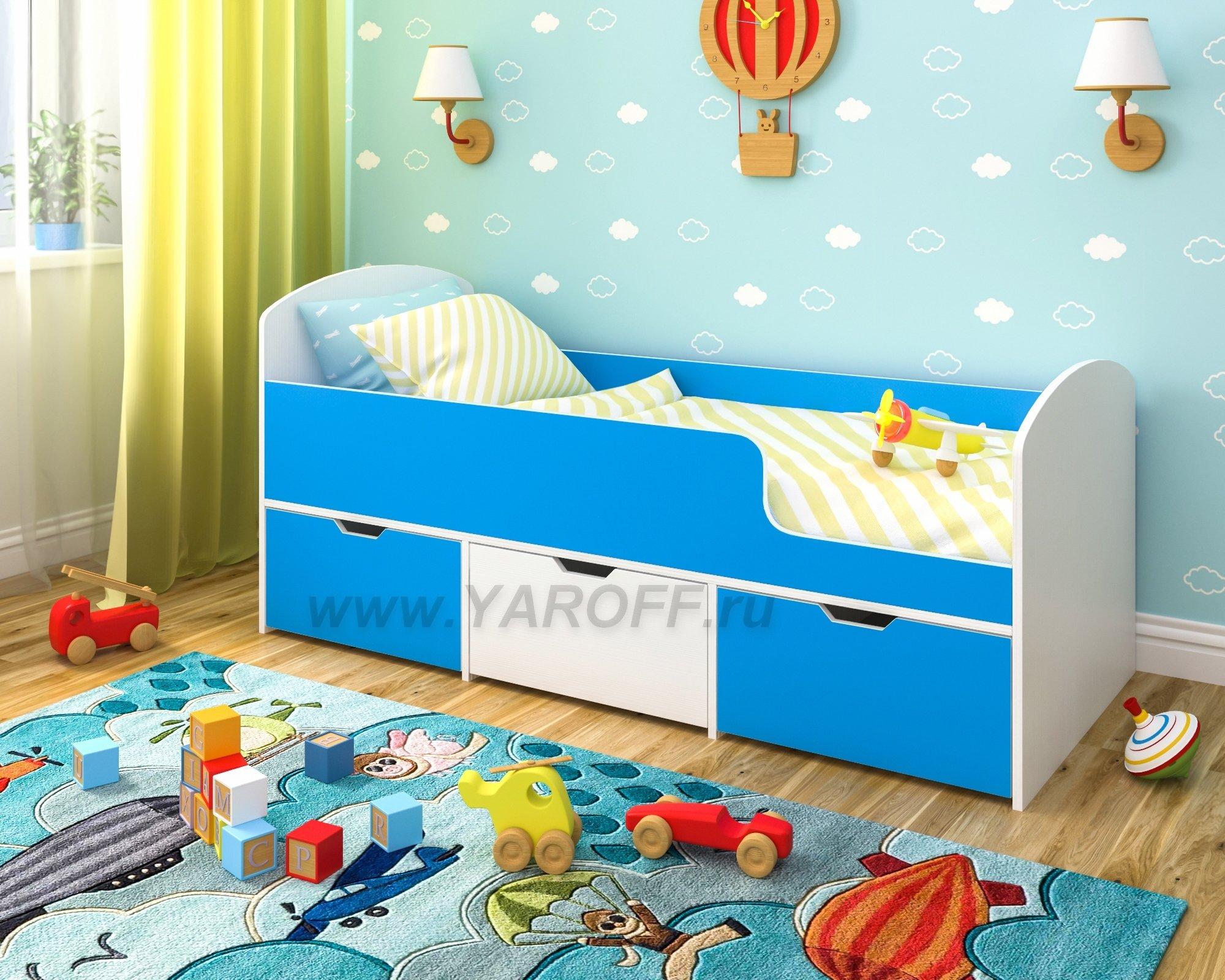 Кровати для детей от 2 лет с бортиками фото цена